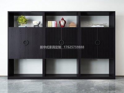 新中式书架JYG-CQS-1857