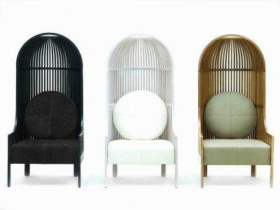 新中式休闲椅JYG-CQS-1899