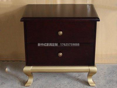 新中式床头柜JYG-CQS-1904