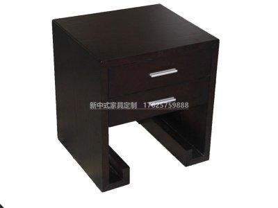 新中式床头柜JYG-CQS-1908