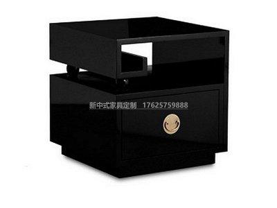 新中式床头柜JYG-CQS-1911