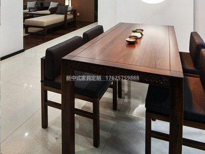 新中式茶桌椅组合JYG-CQS-1939