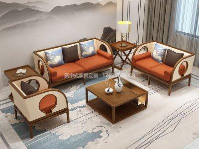 新中式沙发JYG-CQS-1941