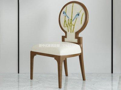 新中式餐椅JYG-CQS-1946