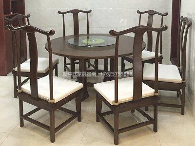 新中式餐桌椅组合JYG-CQS-1976