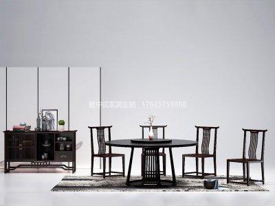 新中式餐厅家具JYG-CQS-1993