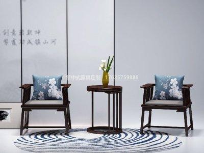 新中式休闲桌椅JYG-CQS-1997