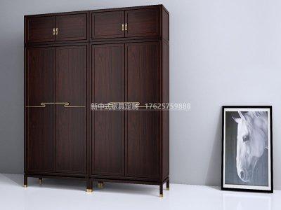 新中式衣柜JYG-CQS-2001