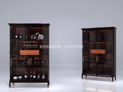 新中式酒柜JYG-CQS-2011