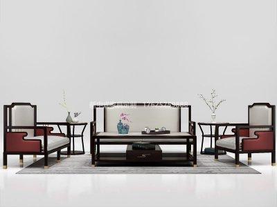 新中式沙发JYG-CQS-2015