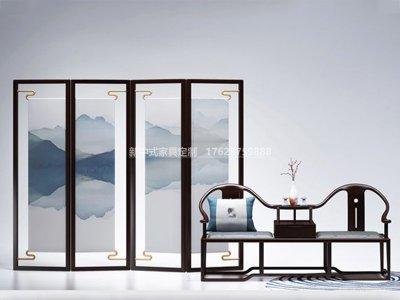 新中式客厅家具JYG-CQS-2022