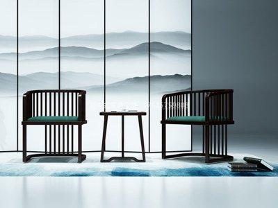 新中式休闲桌椅JYG-CQS-2023