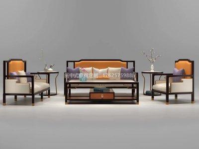 新中式沙发JYG-CQS-2025