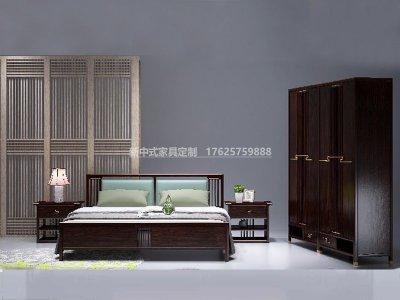 新中式卧室家具JYG-CQS-2028