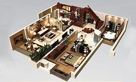 新中式家具居家设计