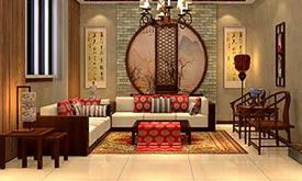 现代中式餐厅家具