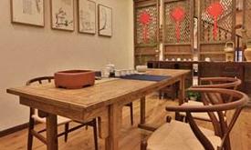 现代中式卧房家具